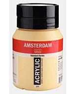 Amsterdam Acrylic Color - 500ml - Naples Yellow Deep