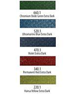PanPastel Soft Pastels - Set of 5 - Extra Dark Shades