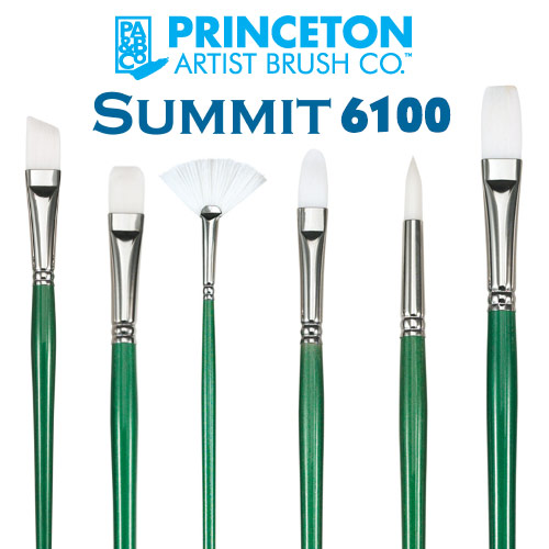 Princeton Synthetic Bristle 6100