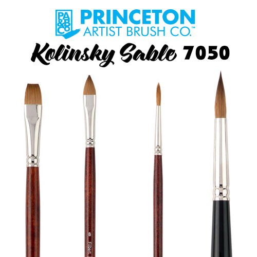 Princeton 7050 - Natural Kolinsky Sable