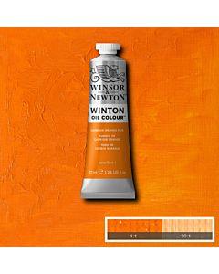 Winsor & Newton Winton Oil Color 37ml - Cadmium Orange Hue