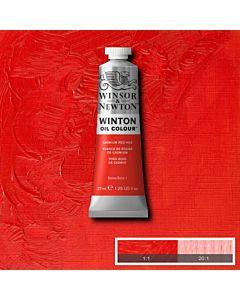 Winsor & Newton Winton Oil Color 37ml - Cadmium Red Hue