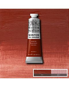 Winsor & Newton Winton Oil Color 37ml - Indian Red