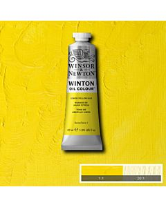Winsor & Newton Winton Oil Color 37ml - Lemon Yellow Hue