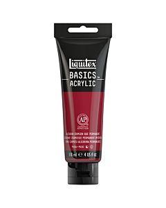 Liquitex Basics Acrylic - 4oz - Alizarin Crimson Hue