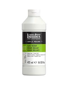 Liquitex Gloss Medium & Varnish - 16oz