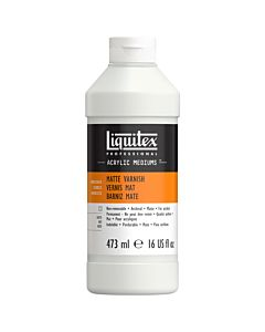 Liquitex Matte Varnish - 16oz Bottle