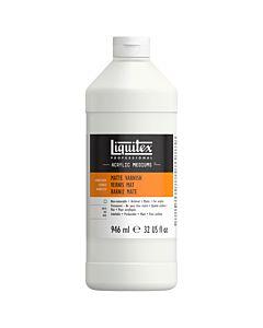 Liquitex Matte Varnish - 32oz Bottle