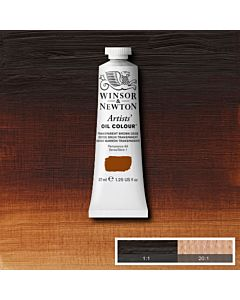 Winsor & Newton Artists' Oil Color 37ml - Transparent Brown Oxide