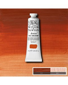 Winsor & Newton Artists' Oil Color 37ml - Transparent Red Ochre