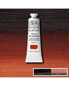 Winsor & Newton Artists' Oil Color 37ml - Transparent Maroon