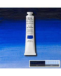 Winsor & Newton Artists' Oil Color 200ml Tube - French Ultramarine