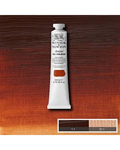 Winsor & Newton Artists' Oil Color 200ml Tube - Burnt Sienna