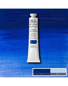 Winsor & Newton Artists' Oil Color 200ml Tube - Cobalt Blue