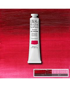 Winsor & Newton Artists' Oil Color 200ml Tube - Permanent Rose
