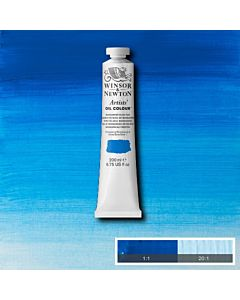 Winsor & Newton Artists' Oil Color 200ml Tube - Manganese Blue Hue
