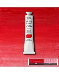 Winsor & Newton Artists' Oil Color 200ml Tube - Bright Red