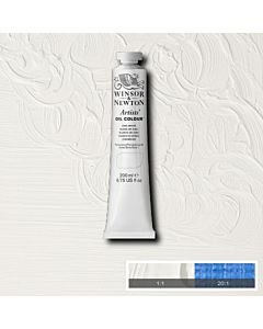 Winsor & Newton Artists' Oil Color 200ml Tube - Zinc White