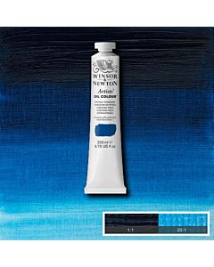 Winsor & Newton Artists' Oil Color 200ml Tube - Phthalo Turquoise