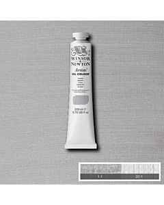 Winsor & Newton Artists' Oil Color 200ml Tube - Silver