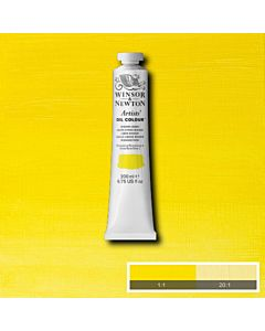 Winsor & Newton Artists' Oil Color 200ml Tube - Winsor Lemon