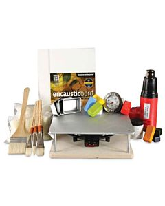 R&F Encaustic Handmade Paint - Studio Essentials Kit 40ml Blocks
