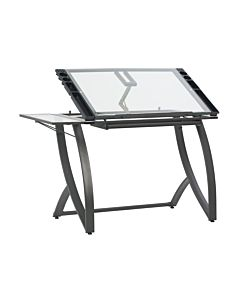 Studio Designs - Futura Luxe Drawing/Craft Table W/ Drawer & Shelf