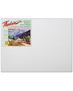 "Fredrix 16x20"" Belgian Linen Paint Board (3/4"" depth)"