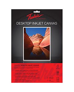 "Fredrix Ink Jet Canvas 8.5x11"" 10-Pack"