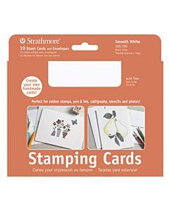 Strathmore Stamping Card/Envelope 20 Pack - 5X6.8
