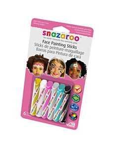 Snazaroo Face Painting 6 Stick Girls Set