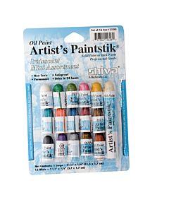Shiva Artist's Paintstik 16-Color Iridescent Mini Assortment