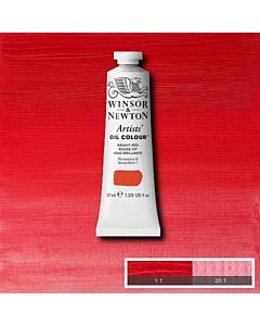 Winsor & Newton Artists' Oil Color 37ml - Bright Red
