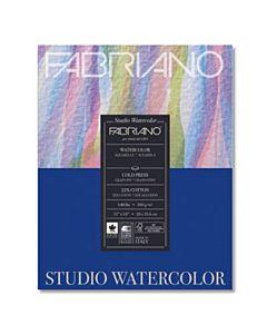 """Fabriano Studio Watercolor Paper 140lb. Cold Press 50-Sheet Pad 11x14"""""""