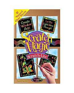 Scratch Magic Stained Glass