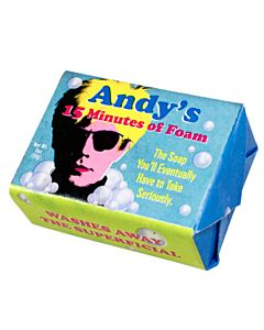 Andy'S Fifteen Minutes Of Foam