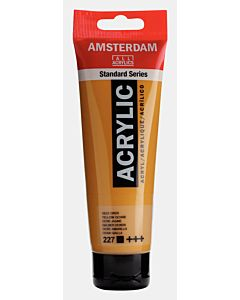 Amsterdam Acrylic Color - 120ml - Yellow Ochre #227
