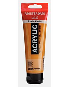 Amsterdam Acrylic Color - 120ml - Gold Ochre #231