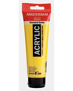 Amsterdam Acrylic Color - 120ml - Azo Yellow Light #268