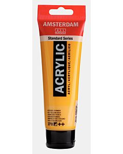 Amsterdam Acrylic Color - 120ml - Azo Yellow Deep #270