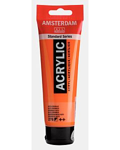 Amsterdam Acrylic Color - 120ml - Azo Orange #276
