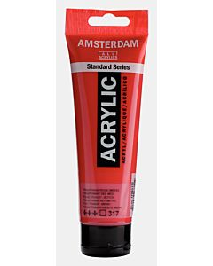 Amsterdam Acrylic Color - 120ml - Transparent Red Medium #317