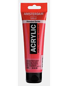 Amsterdam Acrylic Color - 120ml - Permanent Red Purple #348