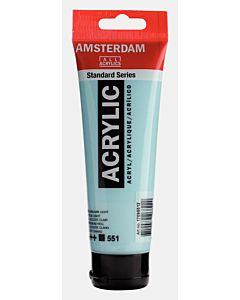 Amsterdam Acrylic Color - 120ml - Sky Blue Light #551