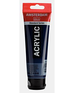 Amsterdam Acrylic Color - 120ml - Prussian Blue Phthalo #566