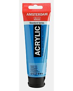 Amsterdam Acrylic Color - 120ml - Primary Cyan #572