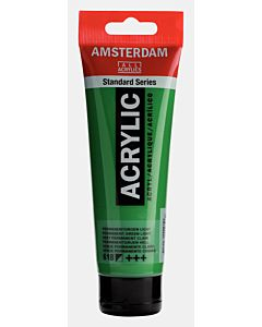 Amsterdam Acrylic Color - 120ml - Permanent Green Light #618