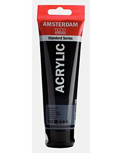 Amsterdam Acrylic Color - 120ml - Lamp Black #702