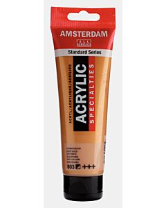 Amsterdam Acrylic Color - 120ml - Deep Gold #803