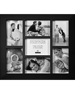 Malden Designs - Berkeley Black 7 Photo Frame